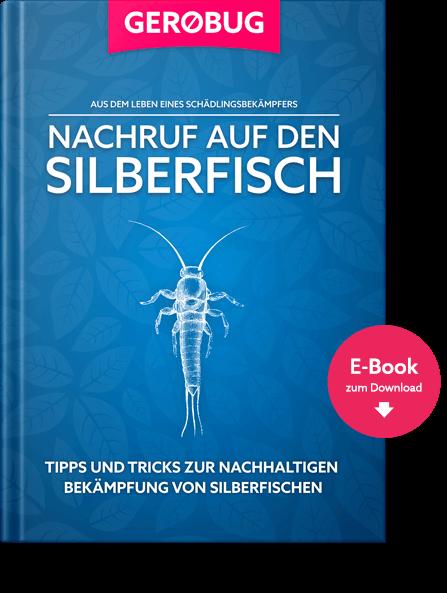 E-Book zur nachhaltigen Bekämpfung von Silberfischen