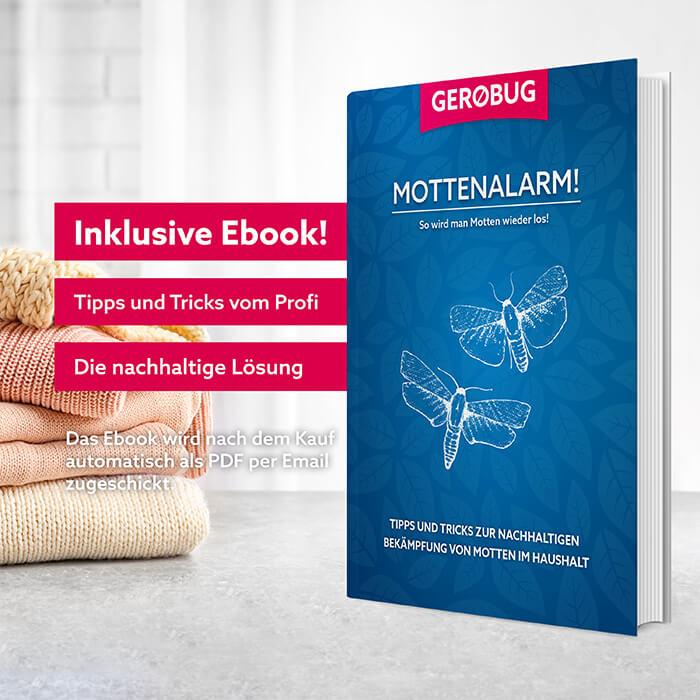 E-Book mit wichtigen Informationen zur Bekämpfung von Kleidermotten