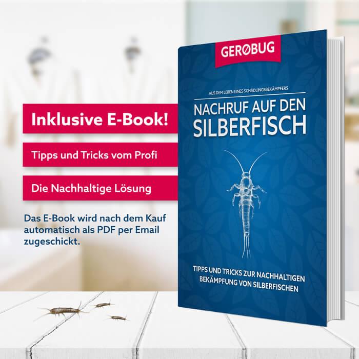 E-Book zur Bekämpfung von Silberfischen