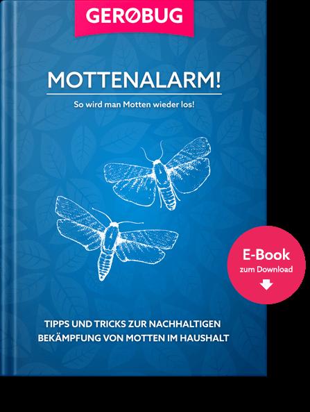 Gratis E-Book mit nützlichen Tipps und Tricks zur nachhaltigen Bekämpfung von Kleidermotten